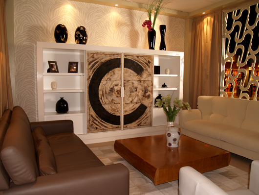 Luxury furniture of Colonial Club shown at Habitat Valencia ...